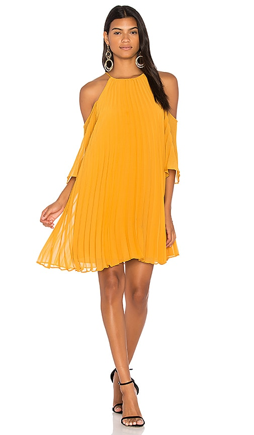 BB Dakota Gretel Dress in Mustard