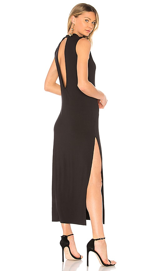 BB Dakota Sasha Open Back Dress in Black