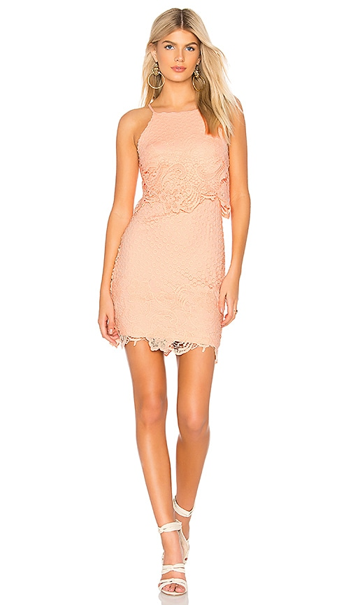 378da8d84974a BB Dakota Bryn Dress in Salmon | REVOLVE