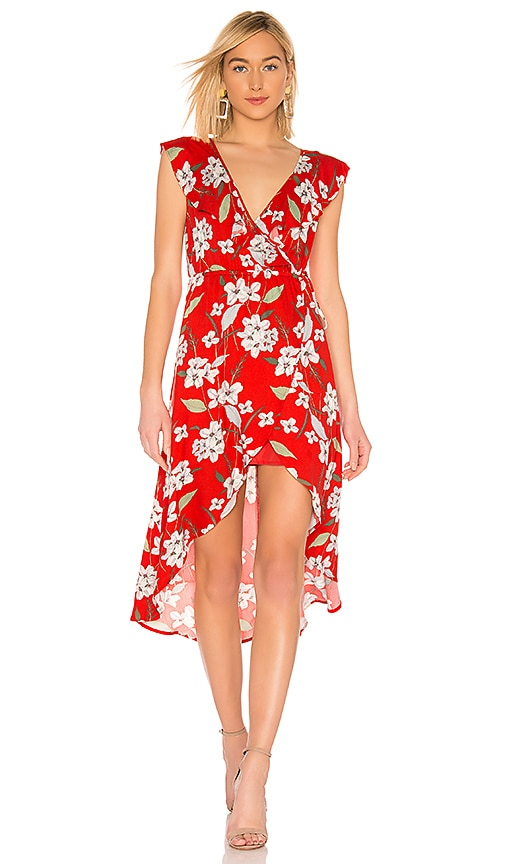 e286bb4265a542 BB Dakota JACK by BB Dakota Gild The Lily Dress in Poppy Red | REVOLVE