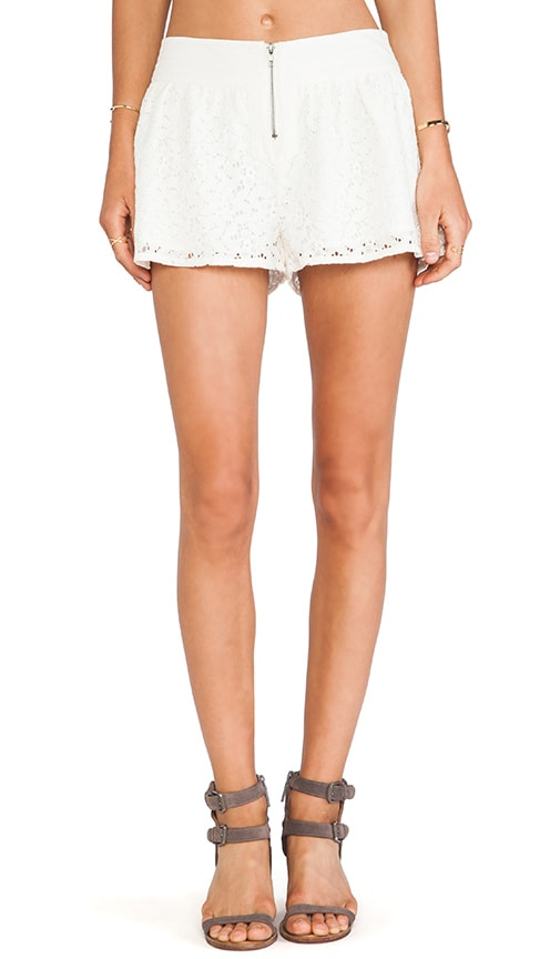 Amiri Crochet Lace Shorts