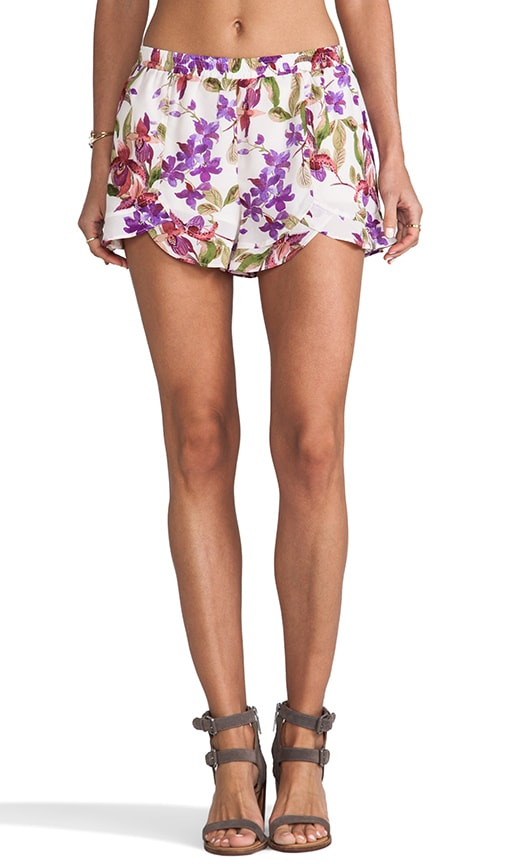 Kelton Orchid Printed Shorts