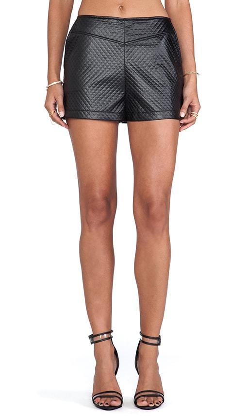 Hanson Faux Leather Short
