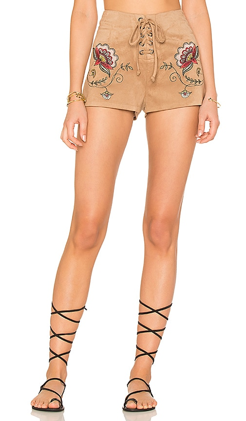 BB Dakota X REVOLVE Brittain Short in Brown