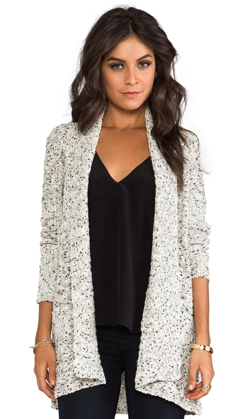Cannon Melange Long Cardigan