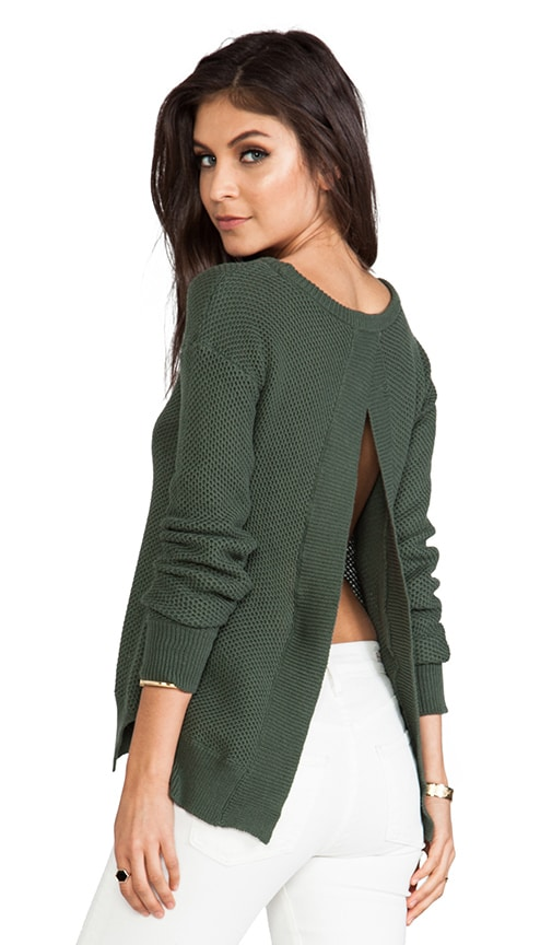 Kit Open Back Sweater