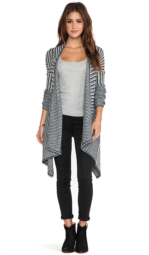 Mayer Striped Cardigan