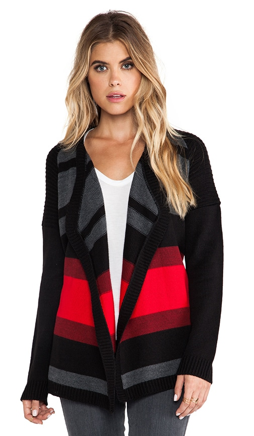 Collin Striped Cardigan