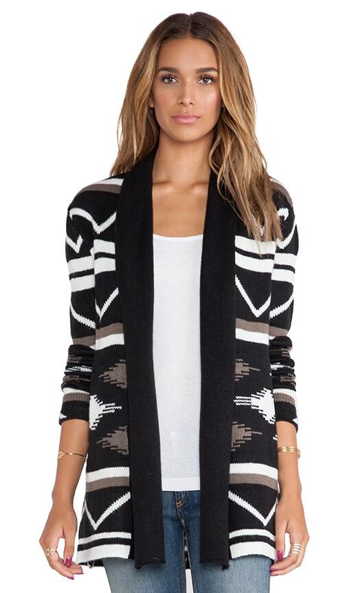 Denny Blanket Pattern Cardigan