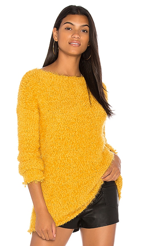 BB Dakota Debra Sweater in Yellow