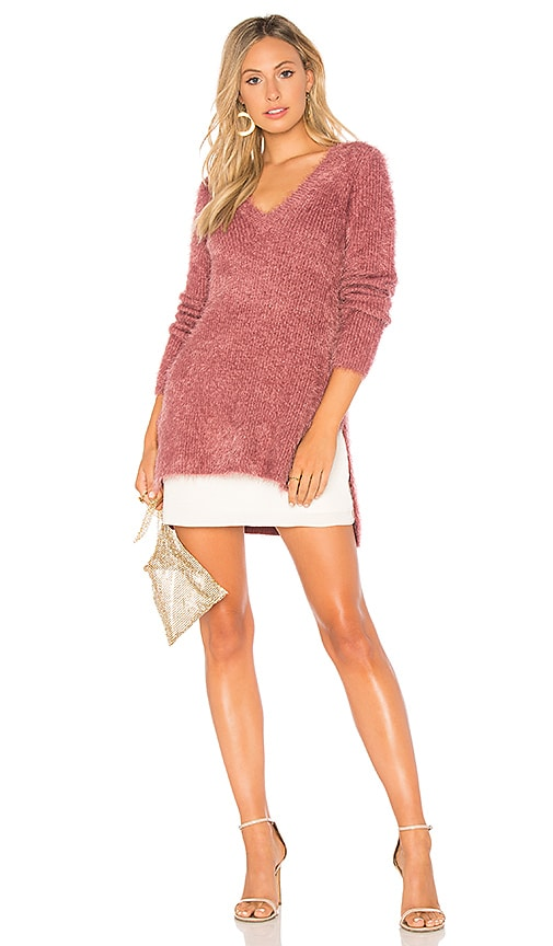BB Dakota JACK by BB Dakota Pam Sweater in Rose