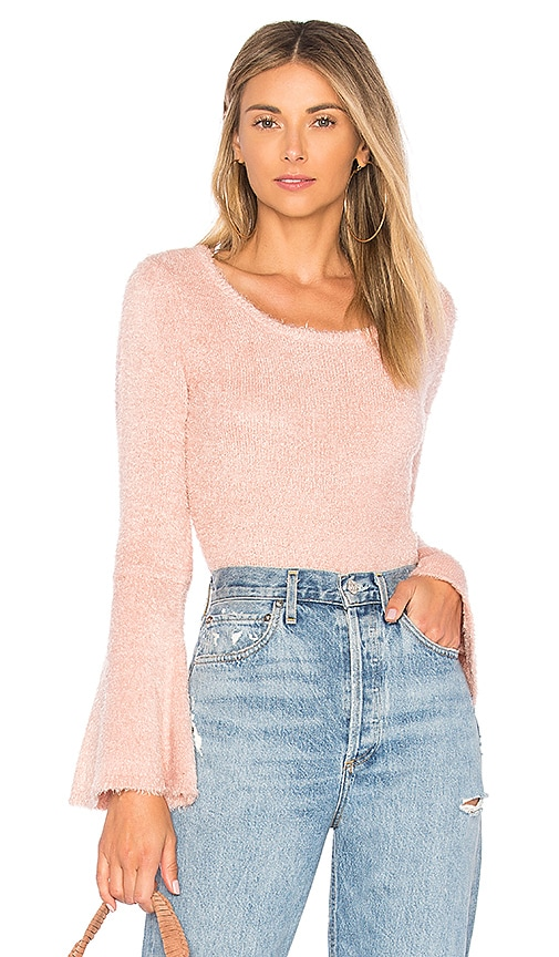BB Dakota JACK by BB Dakota Regine Sweater in Rose