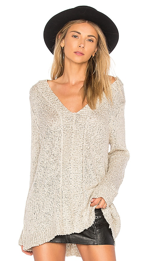 BB Dakota JACK by BB Dakota Jackson Sweater in Metallic Gold