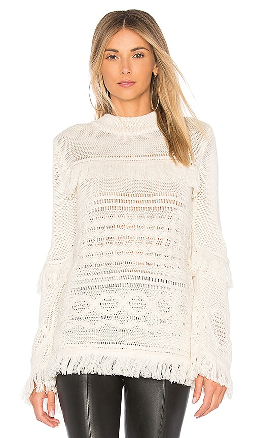 BB Dakota Baker Sweater in Ivory
