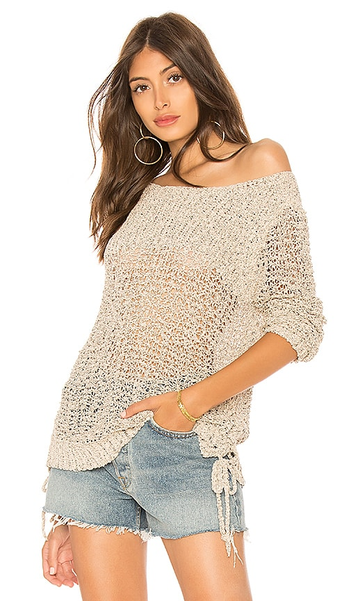 BB Dakota Judd Pullover Sweater in Beige