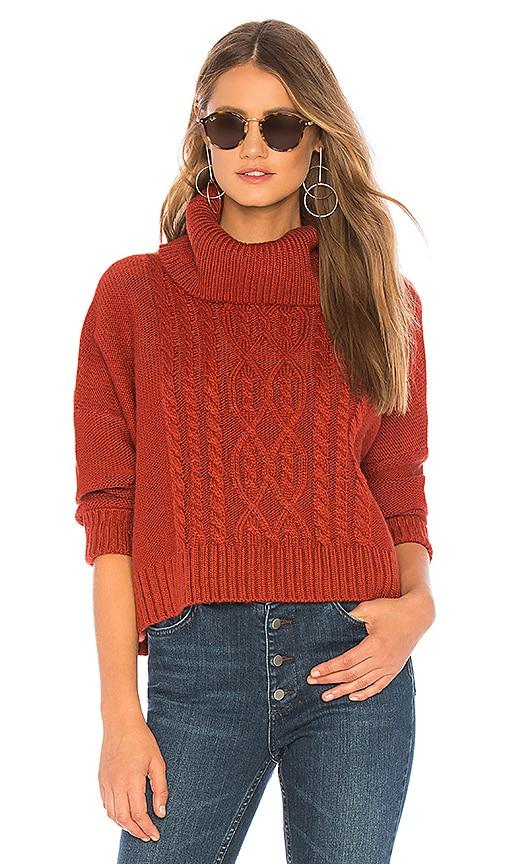 bbb9bb041c BB Dakota JACK by BB Dakota Say Anything Sweater in Burnt Orange ...