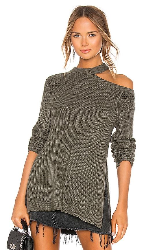 BB Dakota JACK by BB Dakota Dusk Til Dawn Sweater in Light Olive ... a2cf57b4d