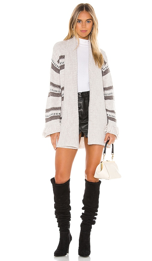 JACK by BB Dakota Fringe Theory Cardigan