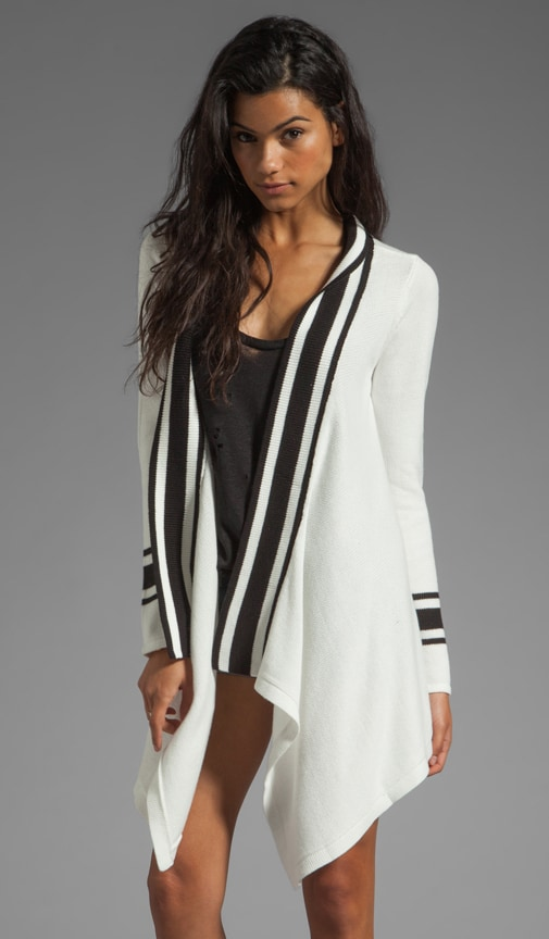 Thina Stripe Cardigan