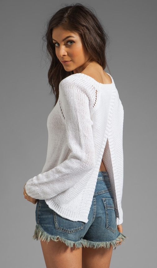 Wilmet Open Back Acrylic Sweater