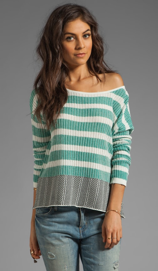 Adalyn Stripe Cotton Sweater