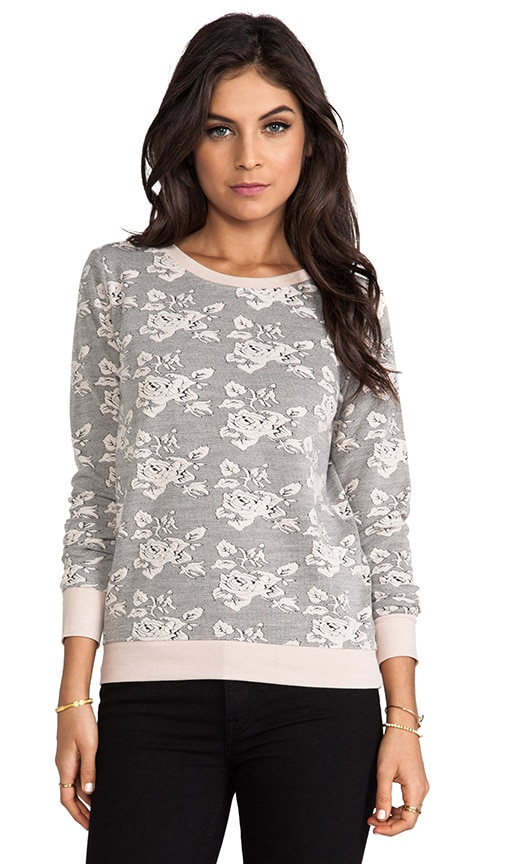 Tierney Rose Pattern Knit Jacquard