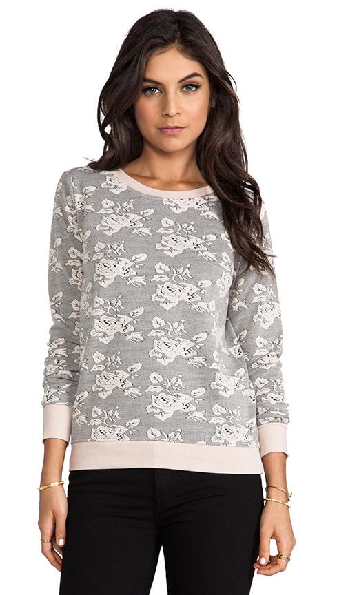Tierney Rose Pattern Knit Jacquard