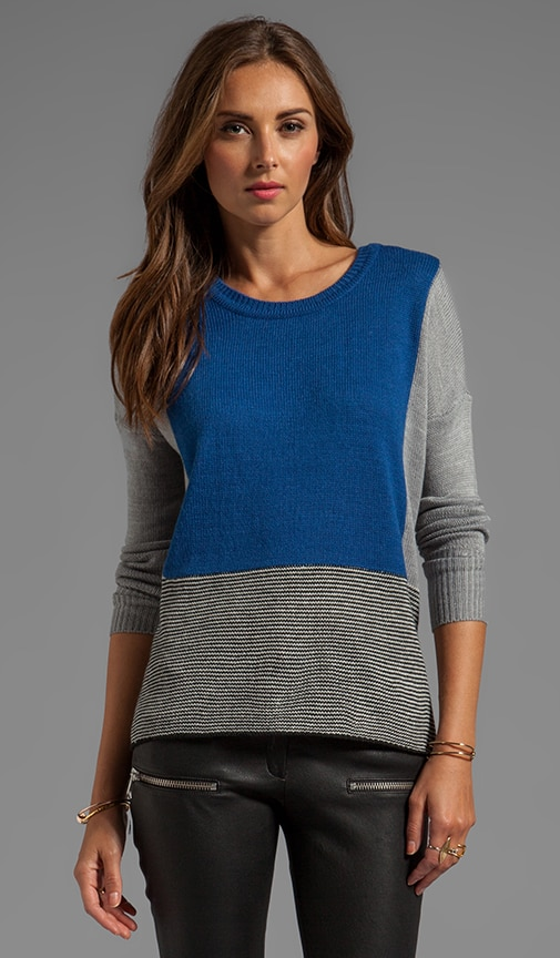 Alice Colorblock Sweater Knit