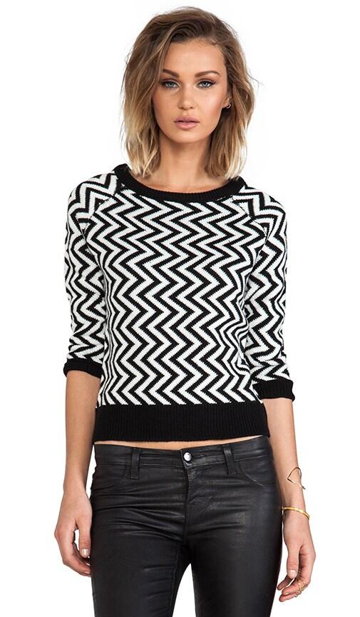 Emalee ZIg Zag Pattern Sweater
