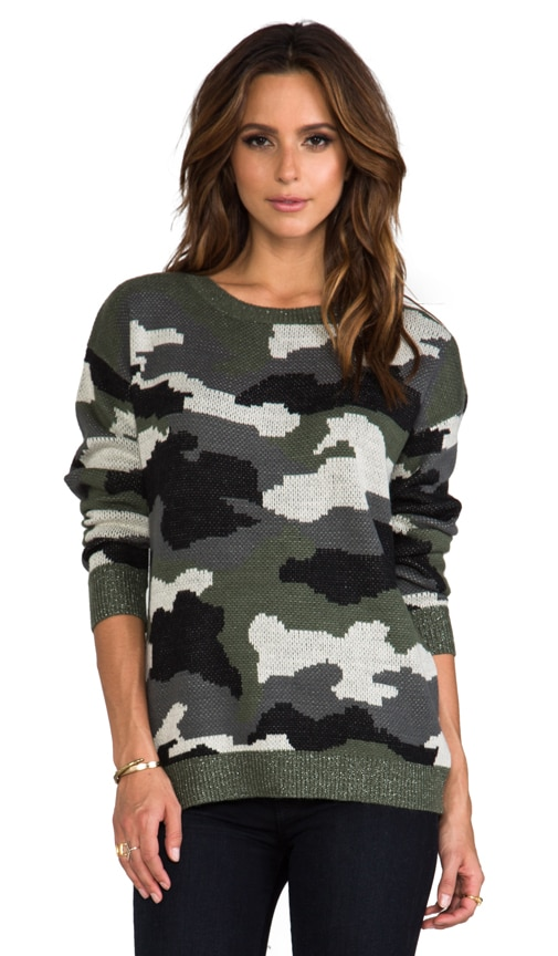Ace Camo Sweater