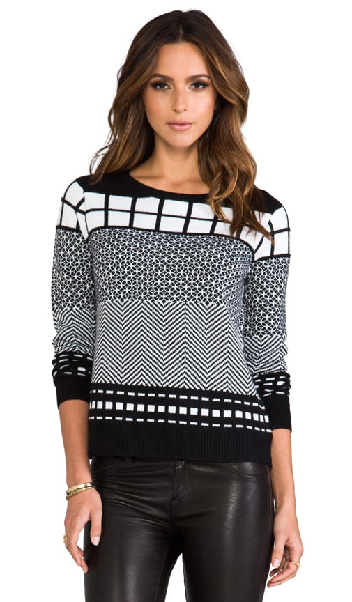Alexander Geometric Patter Pullover