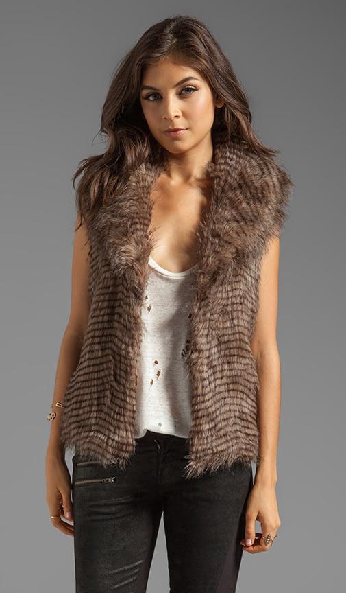 Davorah Faux Fur Vest
