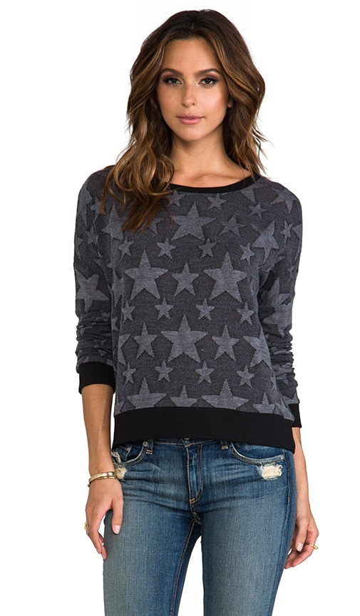 Washington Star Print Sweatshirt