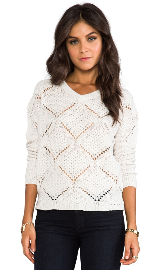 Cody Over Sized Cable Knit Pullover