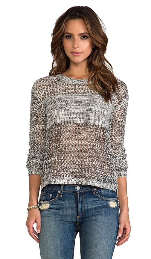 Tovah Lurex Dropped Needle Sweater Knit