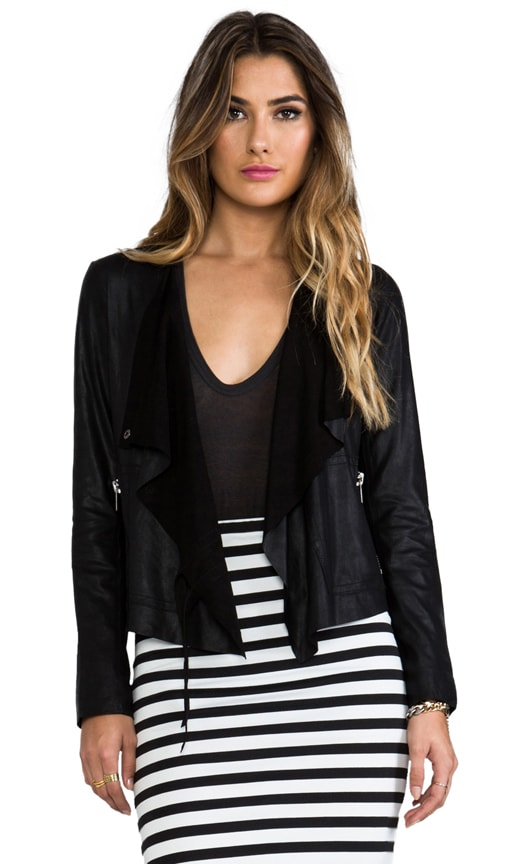 Lux lamb Leather Moto Jacket