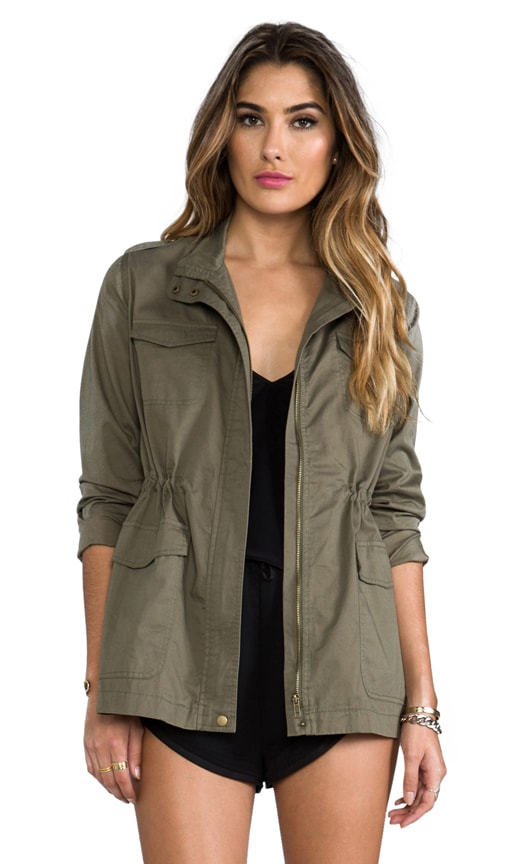 Caitlin Military Jacket