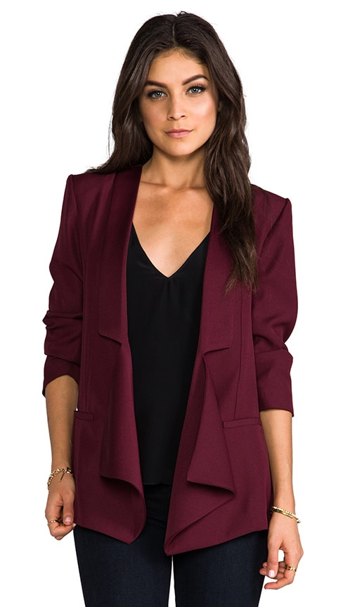Dustin Satin Blazer