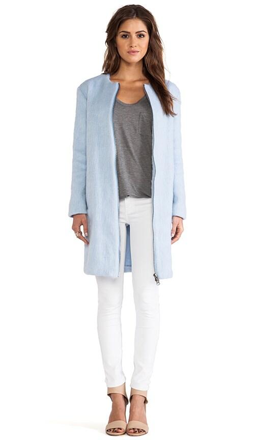 Liezel Wool Zip Up Coat
