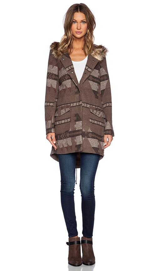 Negeen Patterned Coat