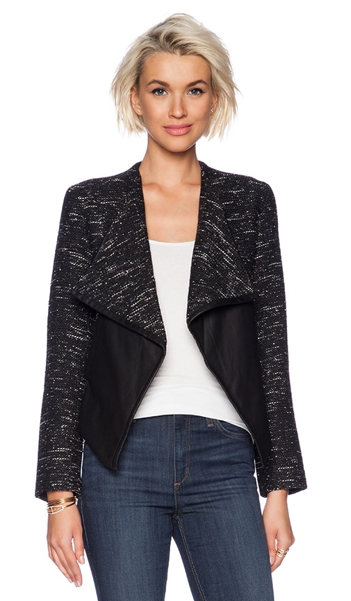 Renata Drape Front Jacket