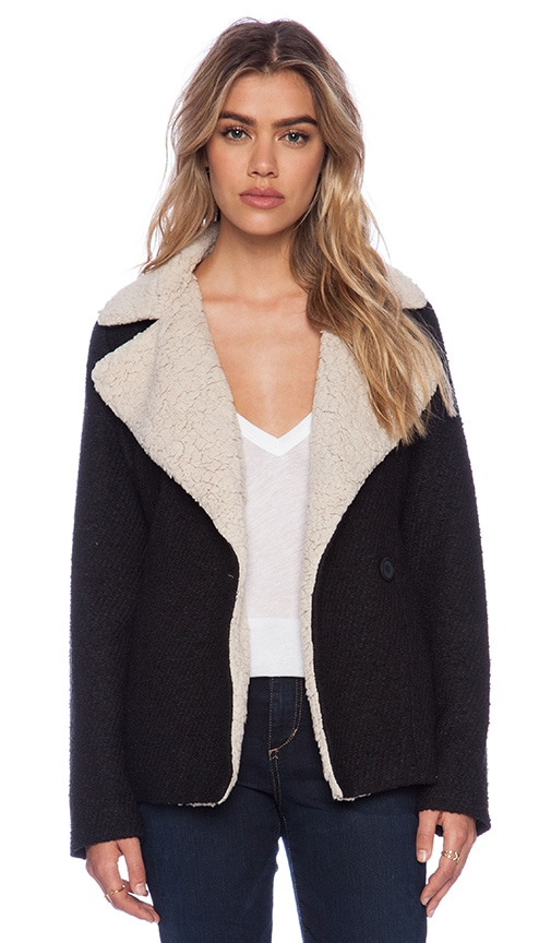 Smith Jacket with Faux Fur Lining