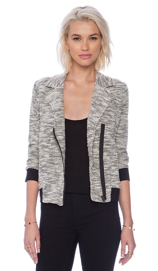 Chaney Knit Moto Jacket