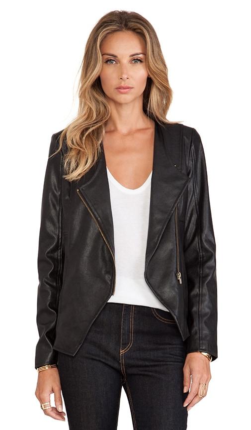 Odette Faux Leather Jacket