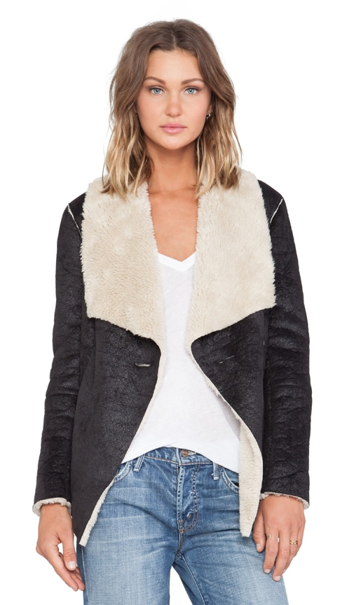 Foster Faux Suede Jacket
