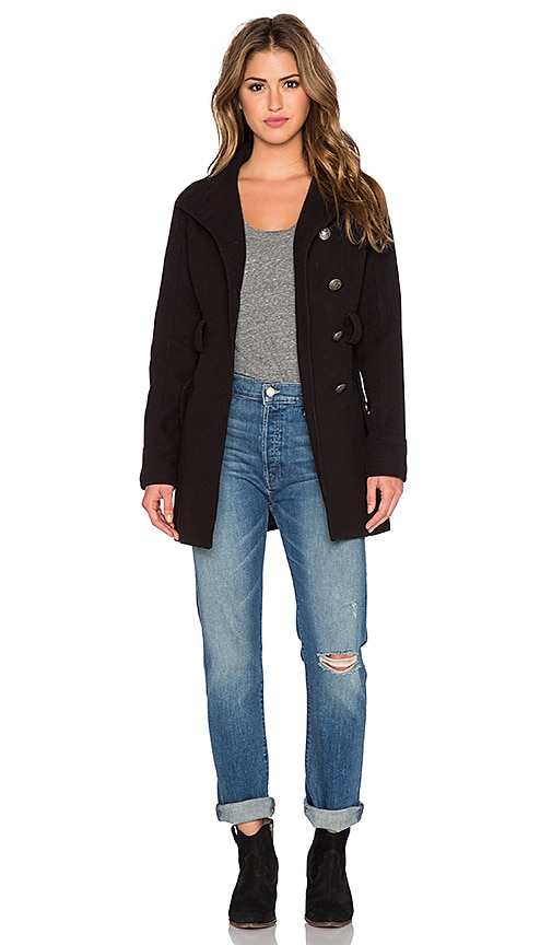 BB Dakota Trula Coat in Black