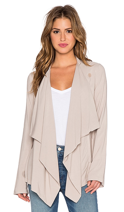 BB Dakota Anya Jacket in Wheat Beige