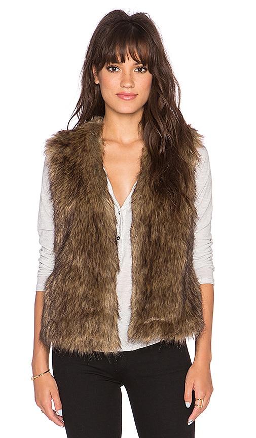 Castleton Faux Fur Vest