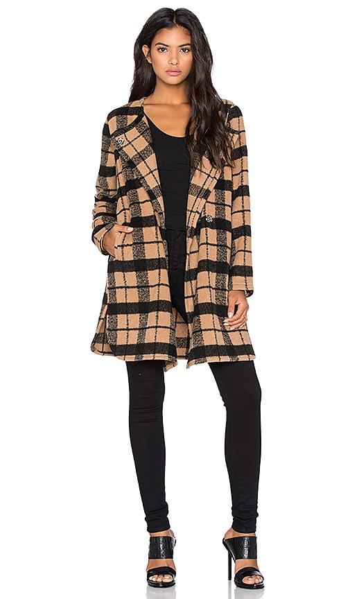Kellen Plaid Coat