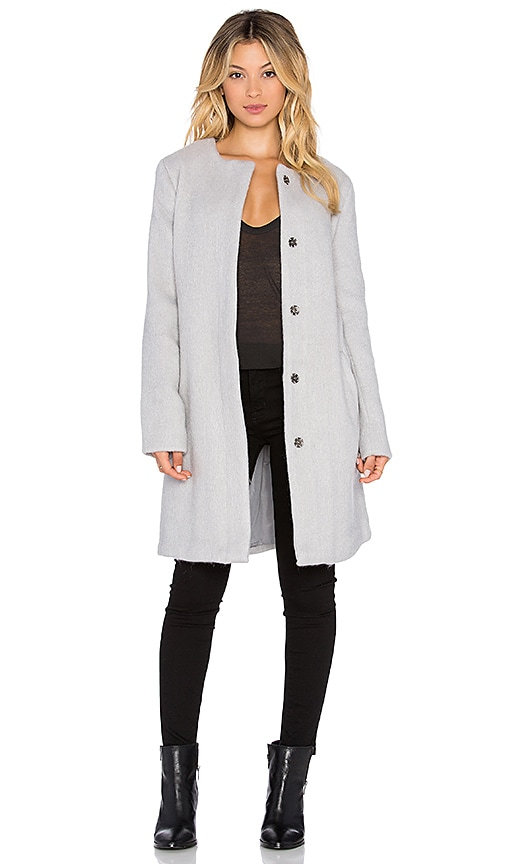 BB Dakota Regan Coat in Dove Grey